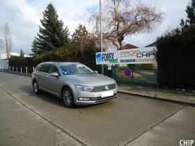 Chiptuning VW Passat B8 2.0 TDI-CR