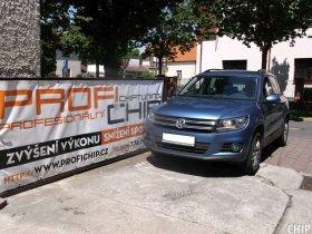 Chiptuning VW Tiguan 2.0 TDI BlueMotion