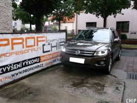 Chiptuning VW Tiguan 2.0 TDI-CR
