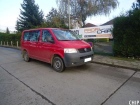 Chiptuning VW Transporter T5 2.5 TDI