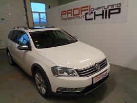 Chiptuning vozu VW Passat Alltrack 2.0 TDI