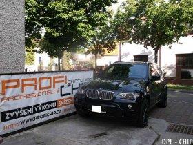 EkoChiptuning a odstranění DPF BMW E70 X5 3.5D