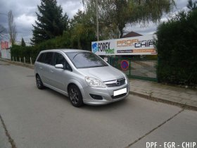 EkoChiptuning, odstranění DPF a deaktivace EGR Opel Zafira 1.9 CDTi