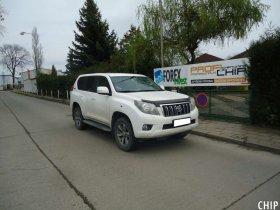 Ekochiptuning Toyota Land Cruiser 3.0 D-4D