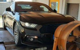 Homologovaná úprava výkonu na voze Ford Mustang 2.3 EcoBoost - 233 kW