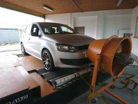 Maximální chiptuning včetně měření na válcové zkušebně vozu VOLKSWAGEN POLO - 1.6 TDI CR, 55 KW