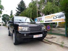 Maximální chiptuning vozu Land Rover- Range Rover 2.7 TD - Sport