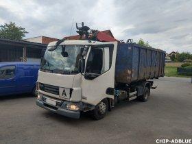 Mobilní chiptuning a deaktivace systému AdBlue nákladního vozu značky DAF LF 45.220