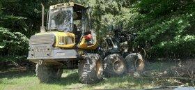 Mobilní chiptuning lesních strojů Ponsse