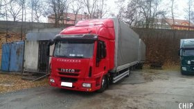 Mobilní chiptuning nákladních vozů Iveco EuroCargo