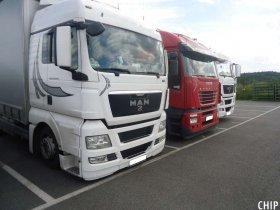 Mobilní chiptuning nákladních vozů MAN TGX
