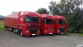 Mobilní chiptuning nákladních vozů značky DAF XF 105.460 a 106.460
