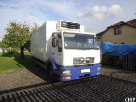 Mobilní chiptuning nákladního vozu Man LE 15.220
