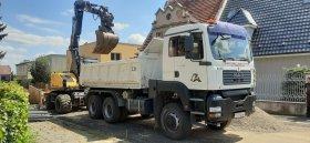 Mobilní chiptuning nákladního vozu Man TGA 26.360
