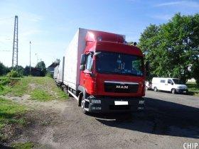 Mobilní chiptuning nákladního vozu MAN TGL 180