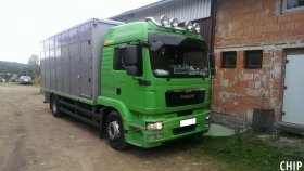 Mobilní chiptuning nákladního vozu MAN TGM 290