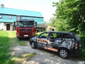 Mobilní chiptuning nákladního vozu Volvo FM440