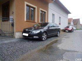 Mobilní chiptuning Škoda Superb II 2.0 TDI-CR