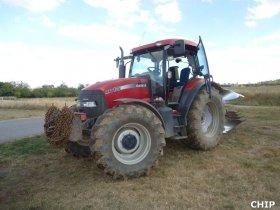 Mobilní chiptuning traktoru Case - MXU 125