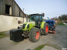 Mobilní chiptuning traktoru Claas Arion 640