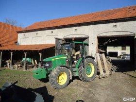 Mobilní chiptuning traktoru John Deere 5090 R