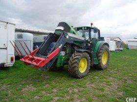 Mobilní chiptuning traktoru John Deere 6930 P