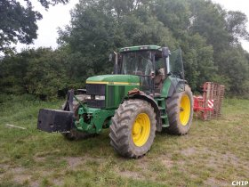 Mobilní chiptuning traktorů John Deere 7810 a John Deere 6115M