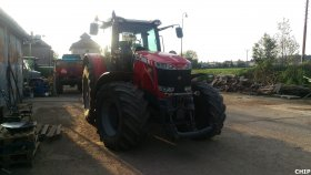 Mobilní chiptuning traktoru Massey Ferguson 8660