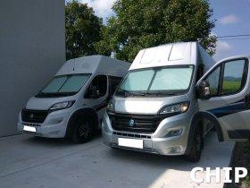 Mobilní chiptuning tří dodávkových vozů značek Fiat Ducato 2.3 MJET a Citroen Jumper 2.2 HDI