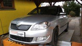Renovace DPF filtru na voze Škoda Fabia 1.6 TDI