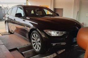 Úprava výkonu včetně měření na válcové zkušebně vozu BMW F31 320Xd - 135 kW