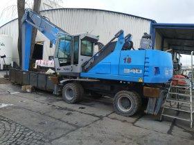 Vypnutí DPF na pracovním stroji FUCHS MHL340
