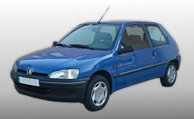 Peugeot 106 - 1.6i, 79 kW