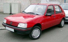 Peugeot 205 - 1.6i, 77 kW