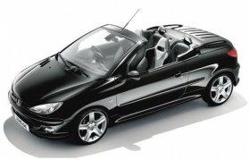 Peugeot 206cc - 1.6 HDI, 81 kW