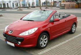 Peugeot 307cc - 2.0i, 100 kW
