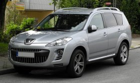 Peugeot 4007 - 2.2 HDI, 115 kW