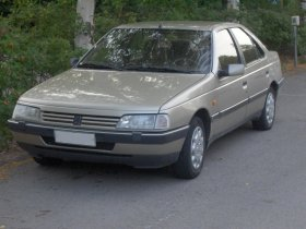 Peugeot 405 - 1.4i, 55 kW