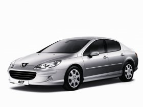Peugeot 407 - 1.8i, 92 kW