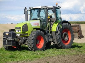 Claas Ares - 816, 121 kW
