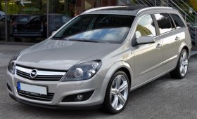 Opel Astra H - 1.6i, 85 kW