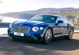 Bentley Continental GT - 4.0 TFSI V8, 388 kW