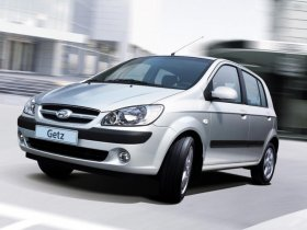 Hyundai Getz - 1.5 CRDi, 65 kW