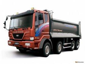 Tata Daewo Novus - HD CARGO TRUCK 25ton 316kW CM876, 316 kW