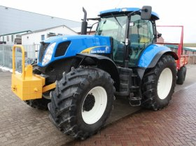 New Holland řada T 7000 - 7070, 167 kW
