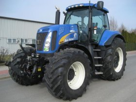 New Holland řada T 8000 - 8030, 201 kW