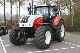Steyr serie 6000 CVT - 6000 CVT, 120 kW