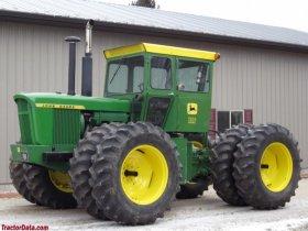 John Deere Serie 7020 - 7720, 125 kW