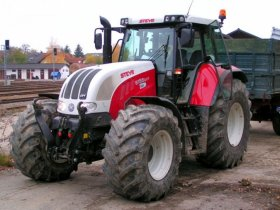 Steyr serie CVT - 6170 CVT, 126 kW