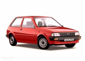 Toyota Starlet - 1.3i, 55 kW